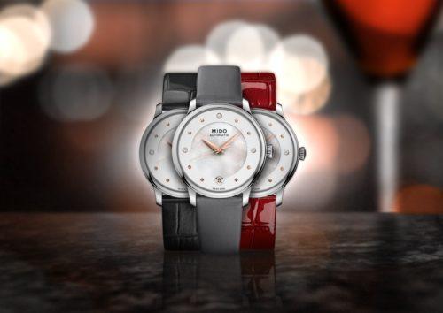 Mido Swiss automatic watch Baroncelli LadyDayNight M039 207 16 106 00 PR NIGHT