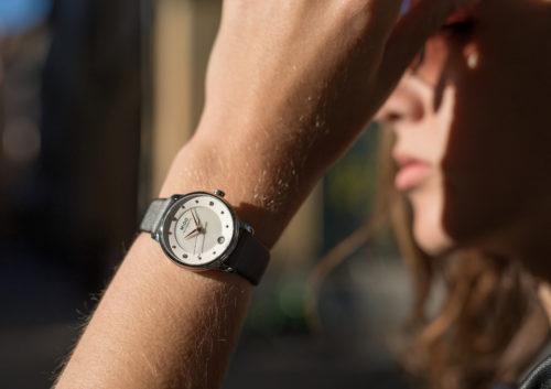 Mido Swiss automatic watches Baroncelli LadyDayNight M039 207 16 106 00 grey strap shop PR 6