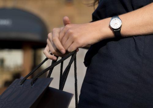 Mido Swiss automatic watches Baroncelli LadyDayNight M039 207 16 106 00 grey strap shop PR 7