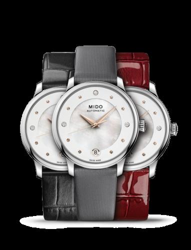 Mido Swiss automatic watch Baroncelli LadyDayNight M039 207 16 106 00 Montage