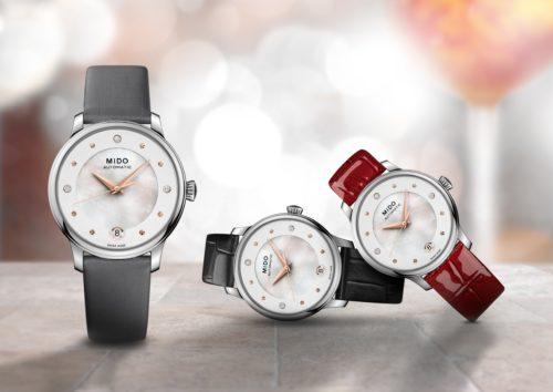 Mido Swiss automatic watch Baroncelli LadyDayNight M039 207 16 106 00 PR DAY