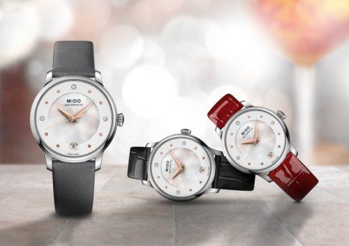 Mido Swiss automatic watch Baroncelli LadyDayNight M039-207-16-106-00PRDAY HD-tif